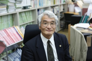 Norio Minami, the lawyer involved in the case to prevent the cremation of the remains
